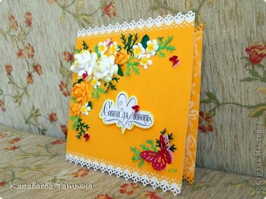 Свадебная открытка. фото 3