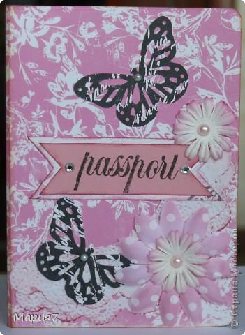 Этот комплект (открытку и обложку) сделала в подарок сестре мужа на ДР.  фото 3