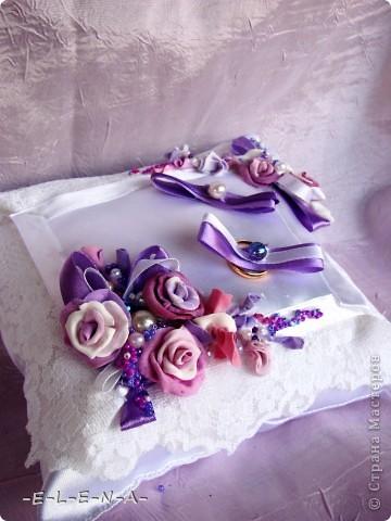 Набор в фиолетово-лиловых тонах фото 3