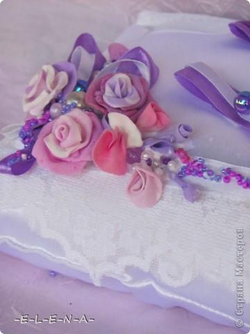 Набор в фиолетово-лиловых тонах фото 4