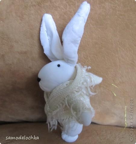 У кого-то еще лето и солнышко... а северные кролики уже идут через суровые снега, чтобы успеть до прихода Нового года... Даже елку несут, куда ж без нее! фото 7