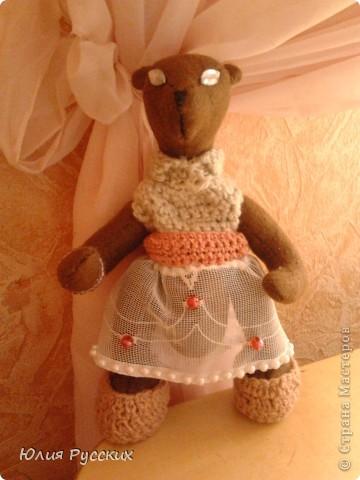 вот такая медведица у меня получилась) фото 1