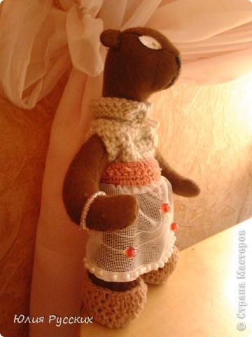 вот такая медведица у меня получилась) фото 2