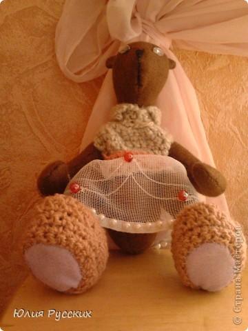 вот такая медведица у меня получилась) фото 3