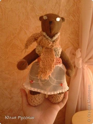 вот такая медведица у меня получилась) фото 4