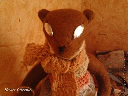 вот такая медведица у меня получилась) фото 5