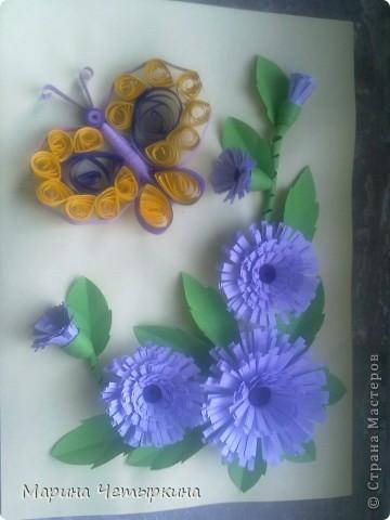 Хризантемы. Первые работы фото 3