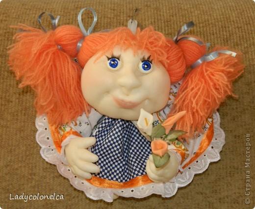 """Продолжаю тему интерьерных куколок """"На удачу!""""  Как я уже писала раньше, все куколки стараюсь делать разными. фото 2"""