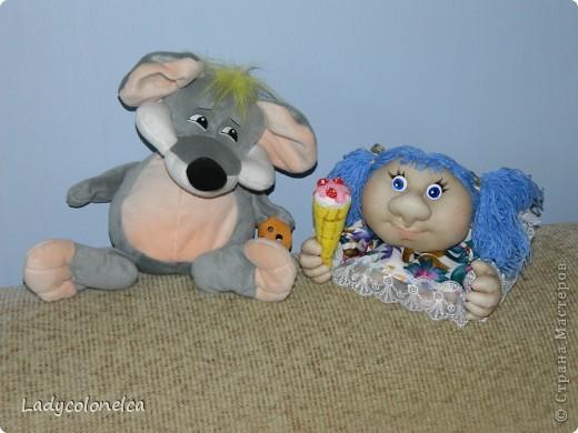 """Продолжаю тему интерьерных куколок """"На удачу!""""  Как я уже писала раньше, все куколки стараюсь делать разными. фото 5"""