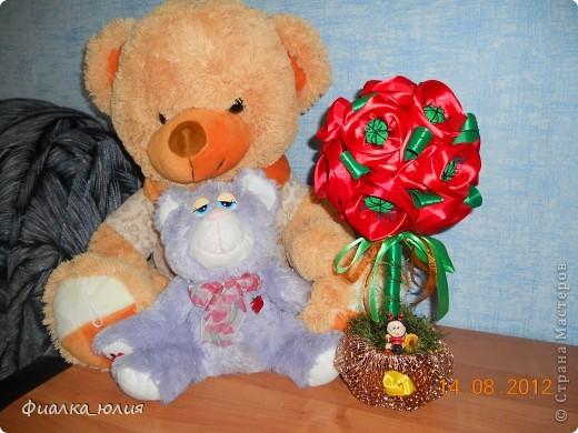 У сестры скоро день рождения. По случаю решила повторить маковое дерево мастерицы Nati2711.. фото 1