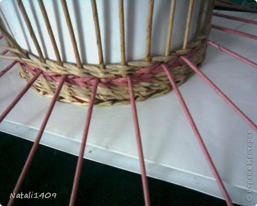 Поделка изделие Декупаж Плетение Крестики Бумага журнальная Салфетки фото 2