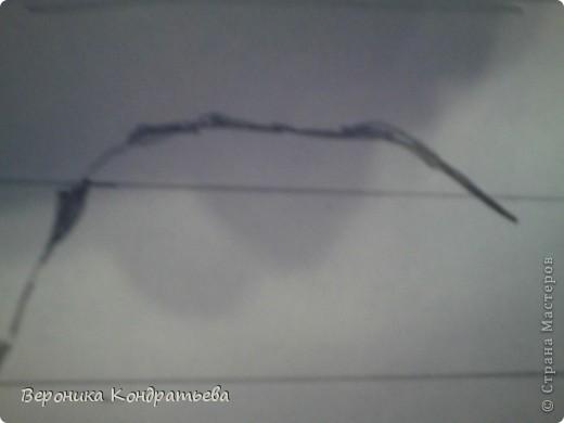 Берем лист бумаги и начинаем творить! рИСУЕМ ПРЯМОУГОЛЬНИК РАЗМЕРОМ  20х13см. Этот прямоугольник располосываем на полоски которые показаны на рисунке. Расстояние через каждые полоски- 3 см. (Извините за качество, дальше будет лучше.) начинаем рисовать спину. И бок. фото 2