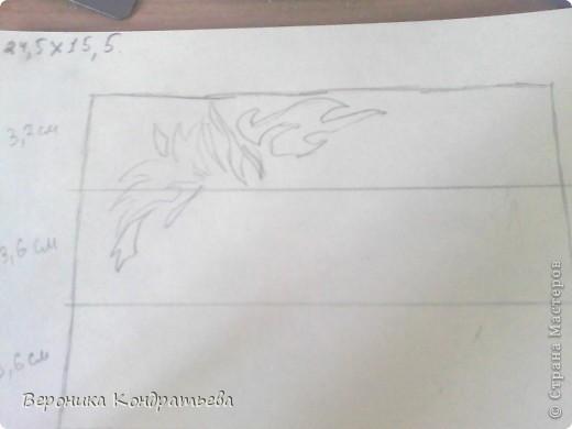 Я очень люблю волков и лошадей, а такие рисунки просто обажаю, вот решила нарисовать такую татуировку поэтапно. Приступим? Берем листок бумаги и рисуем на нем прямоугольник размером 24,5х15,5 см. Делим этот прямоугольник на горизонтальные полоски. расстояние между каждой полоской разное. 1 полоска- 3,2 см. 2 полоска- 3,6 см. 3 полоска- 3,6 см. 4 полоска- 3,3 см. 5 полоска.- 3,3 см. 6 плооска-2,7 см. 7 полоска- 4, 5 см. Нарисовали? Давайте двигаться дальше. фото 2