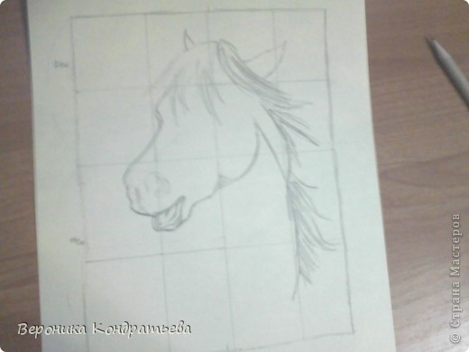 Давайте попробуем нарисовать эту лошадку? фото 5
