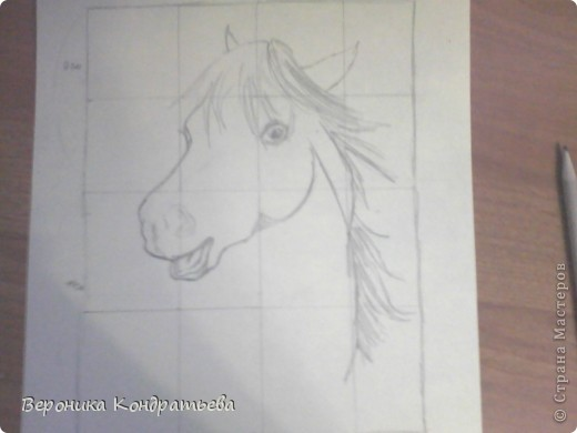 Давайте попробуем нарисовать эту лошадку? фото 6