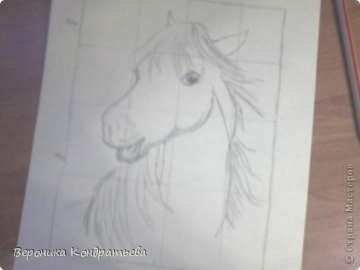 Давайте попробуем нарисовать эту лошадку? фото 7