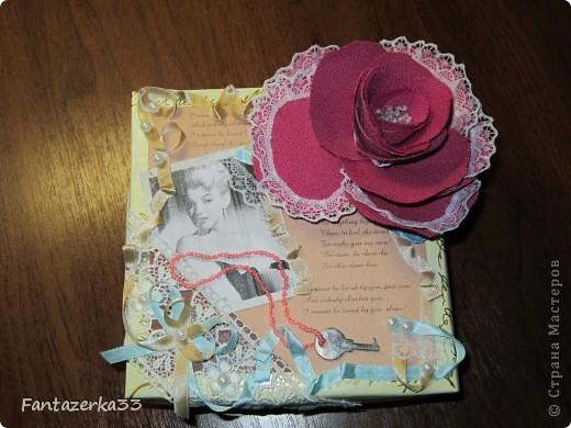 Коробка для бижутерии фото 2