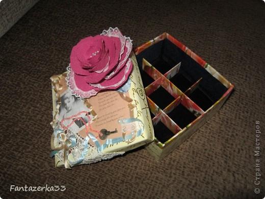 Коробка для бижутерии фото 1