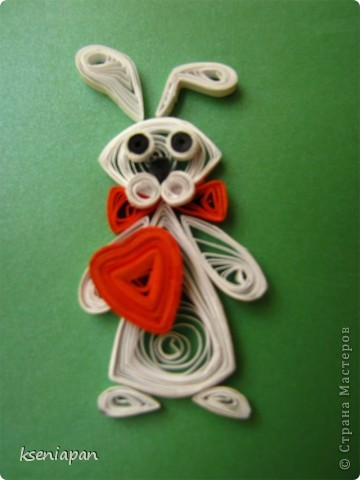 квиллинг кролик
