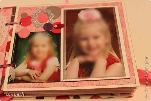 Альбом для девочки на ДР. Размер 16на20. Мягкая обложка. И коробка к нему. Вот некоторые странички. фото 3