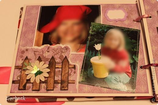 Альбом для девочки на ДР. Размер 16на20. Мягкая обложка. И коробка к нему. Вот некоторые странички. фото 4
