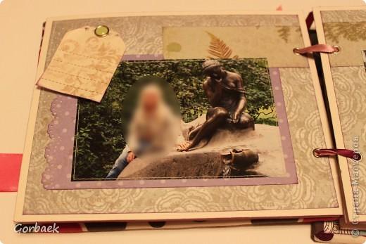 Альбом для девочки на ДР. Размер 16на20. Мягкая обложка. И коробка к нему. Вот некоторые странички. фото 5