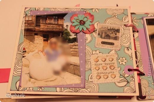 Альбом для девочки на ДР. Размер 16на20. Мягкая обложка. И коробка к нему. Вот некоторые странички. фото 7
