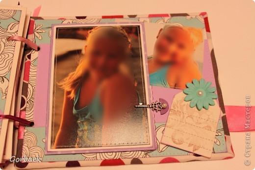 Альбом для девочки на ДР. Размер 16на20. Мягкая обложка. И коробка к нему. Вот некоторые странички. фото 8