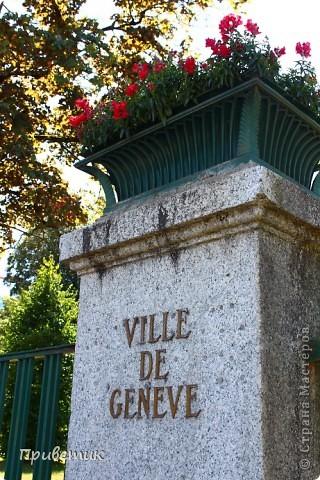 Вход в Ботанический сад Женевы фото 1