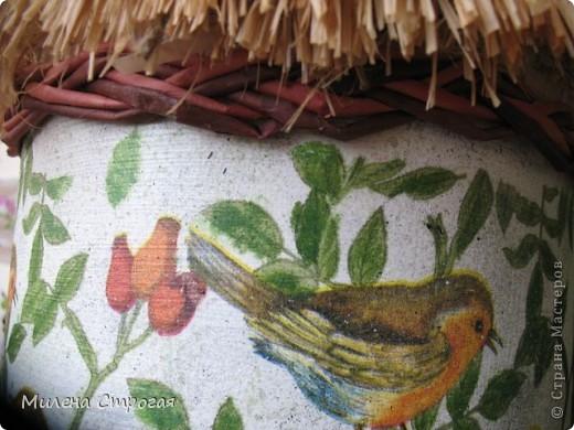 В это блоге представлен птичий дом, изготовленный для природного уголка детского сада. Не знаю как у вас, а в нашем городе запретили в природных уголках держать живых птиц, зверей и даже рыб. Хоть цветы не запретили))) Думаю такое дополнение внесет разнообразие в зеленый уголок... фото 5