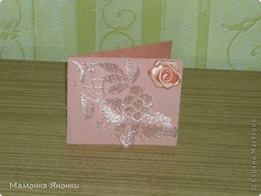 Мои открытки с тканью фото 3
