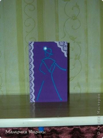 Мои открытки с тканью фото 5