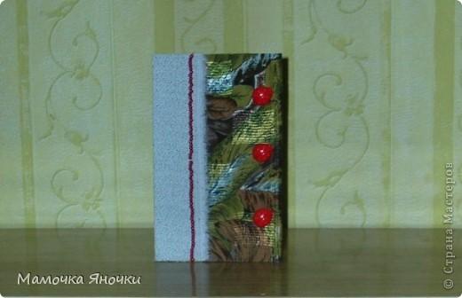 Мои открытки с тканью фото 6