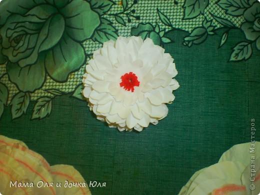 Это мамин цветок из ткани) фото 4