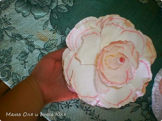 Это мамин цветок из ткани) фото 2