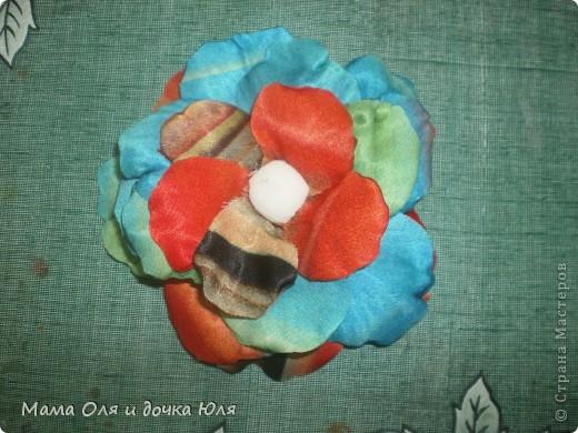 Это мамин цветок из ткани) фото 1
