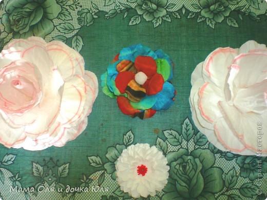 Это мамин цветок из ткани) фото 3