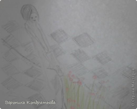 С фотографии срисовывала фото 9