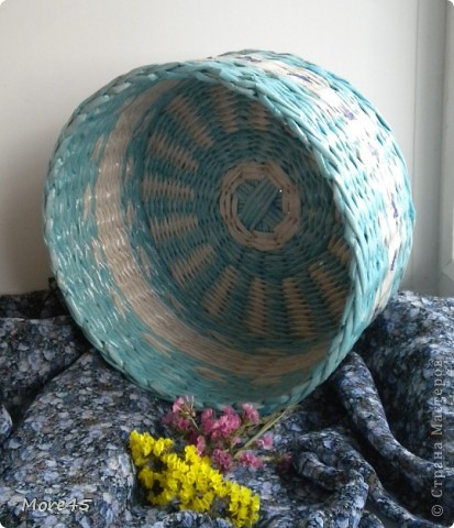 Здравствуйте, очень рада, что заглянули! Вот мои очередные плетенки, ничего особенного, но отчитаться нужно :).                                                                                 Плетенка 68   (26х45х77) фото 7