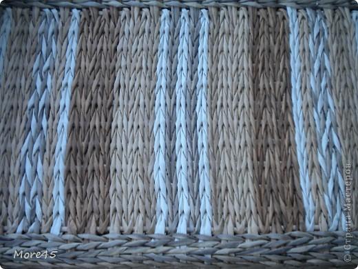 Здравствуйте, очень рада, что заглянули! Вот мои очередные плетенки, ничего особенного, но отчитаться нужно :).                                                                                 Плетенка 68   (26х45х77) фото 4