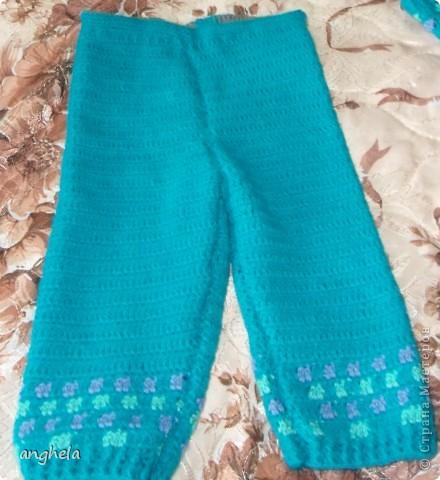 Мой первый вязаный костюм для будущего малыша. Родится он уже очень скоро, остался практически 1 месяц!!! фото 7