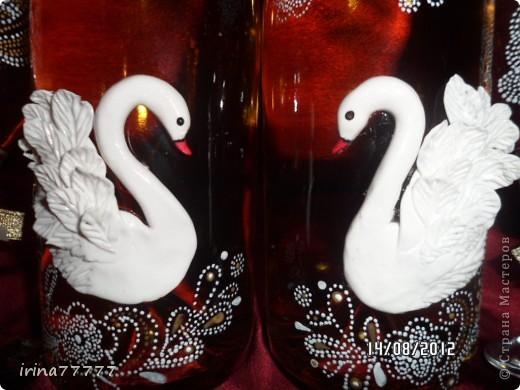 Сделала новый наборчик, первый раз лепила лебедей по мастер-классу http://stranamasterov.ru/user/69769, за  МК огромной спасибо!!! Фотографировала на разных фонах, выставлю разные варианты, а судить вам!!! фото 2