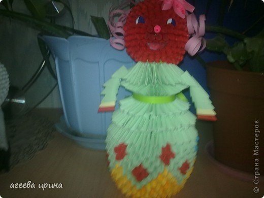 вот такая кукла получилась фото 1