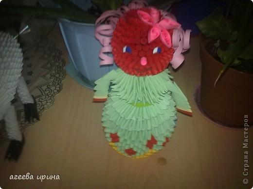 вот такая кукла получилась фото 2