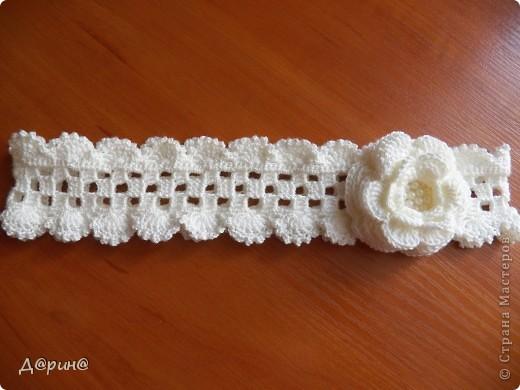 Вязание крючком - Повязка