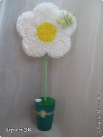 Добрый день, мастерицы! Вот и на моем огороде выросли деревья счастья. Идеи собирала почти год и вот созрела! Цветок выполнен в технике торцевания, немножко декорирован квиллингом. Высота 44 см. Это повторюшка работы Марии Кирилловой. Спасибо огромное за МК и вдохновение!!! http://stranamasterov.ru/node/271654?c=favorite. фото 1