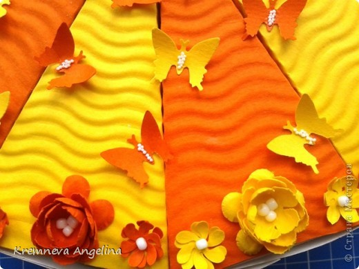Тортик делали вместе с мамой на день рождения :) Идея http://stranamasterov.ru/node/363091?c=new фото 9