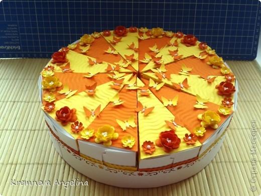 Тортик делали вместе с мамой на день рождения :) Идея http://stranamasterov.ru/node/363091?c=new фото 7
