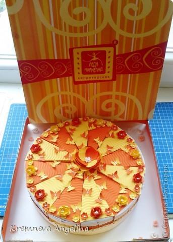 Тортик делали вместе с мамой на день рождения :) Идея http://stranamasterov.ru/node/363091?c=new фото 2