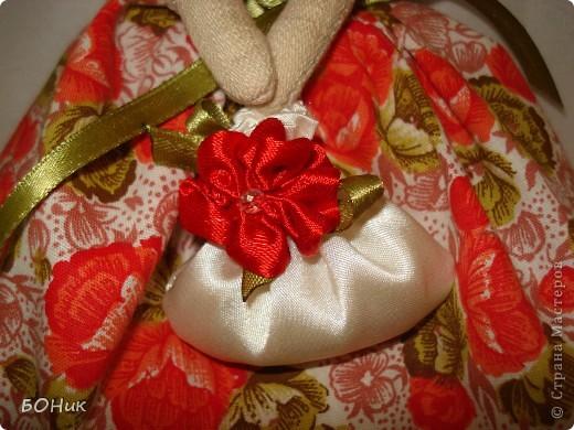 """Доброго времени суток!  Знакомтесь - это Адель. Сшита по выкройке """"деревенского ангела""""  http://kita.com.ua/blog/post/party/70972/show.html Рост у нее около 30 см фото 4"""